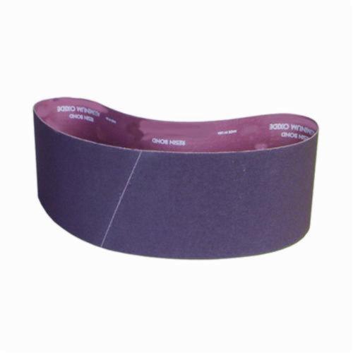 Norton® Metalite® 78072722095 R228 Narrow Coated Abrasive Belt, 4 in W x 36 in L, 60 Grit, Coarse Grade, Aluminum Oxide Abrasive, Cotton Backing