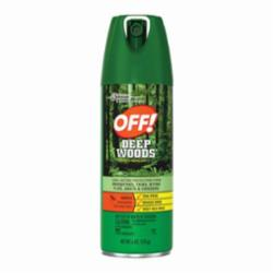 OFF! DEEP WOODS® 94903 Long Lasting Insect Repellent V, 6 oz Can, Aerosal Spray Form