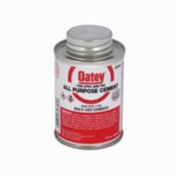 Oatey® 30818 All Purpose Medium Body Solvent Cement, 4 oz Container, Milky Clear