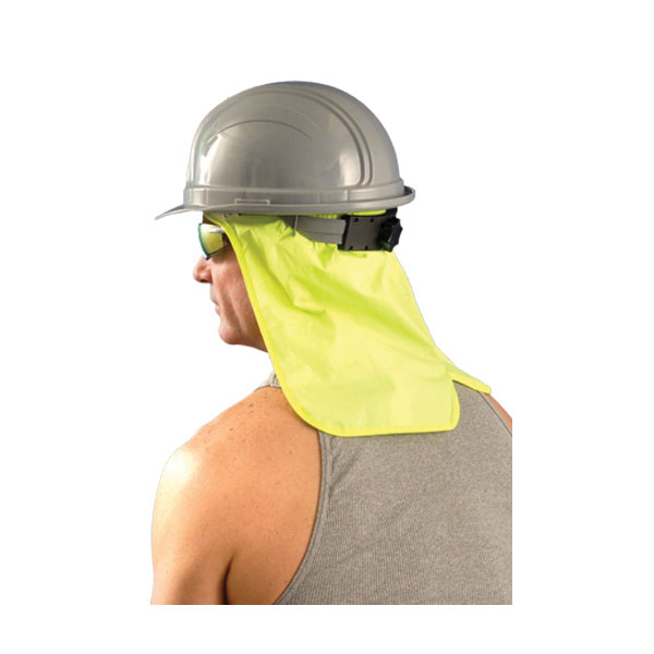 OccuNomix 971-HVY Hard Hat Neck Shade With Sweatband