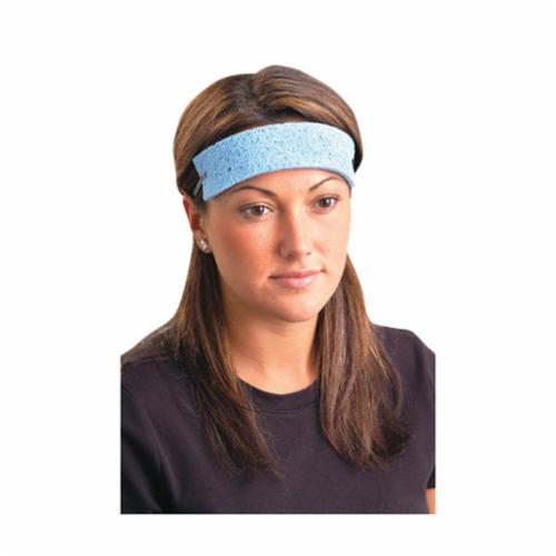 OccuNomix SBR100 Traditional Regular Absorbent Sweatband, Universal, Blue, Cellulose