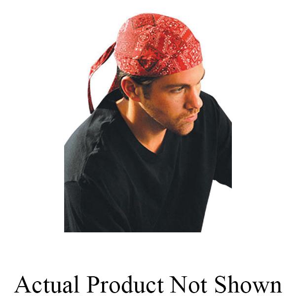 OccuNomix Tuff Nougies® TN5-MOT Non-FR Tie Hat Doo Rag, Universal, Motorbike, Cotton, Tie Closure