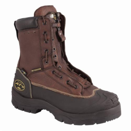 Oliver by Honeywell 65392-13 Insulated Work Boots, Men's, SZ 13, 8 in H, Steel Toe, Leather Upper, Rubber Outsole, Resists: Abrasion, Chemical, Impact, Slip and Water, Specifications Met: ASTM F2413-11 M I/75 C/75 Mt/75 SD