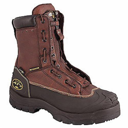 Oliver by Honeywell 65392-TN-090 Insulated Work Boots, Men's, SZ 9, 8 in H, Steel Toe, Leather Upper, Rubber Outsole, Resists: Abrasion, Chemical, Impact, Slip and Water, Specifications Met: ASTM F2413-11 M I/75 C/75 Mt/75 SD
