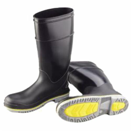 Onguard 89908-10 FLEX3™ 89908 Knee Boots, Men's, SZ 10, 16 in H, Steel Toe, Polyblend PVC Upper, PVC Outsole, Resists: Chemical, Oil and Water, ASTM F2413-05