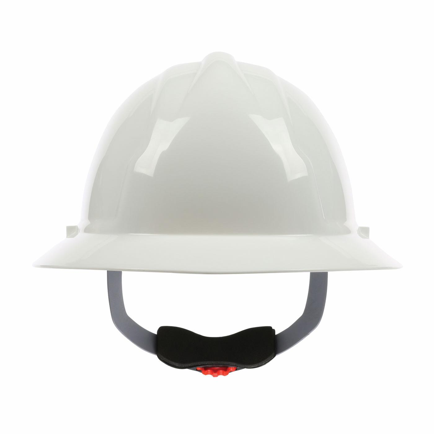 PIP® 280-FBW4200-10 4200 Full Brim Hard Hat, HDPE, 4-Point Polyester Strap Suspension