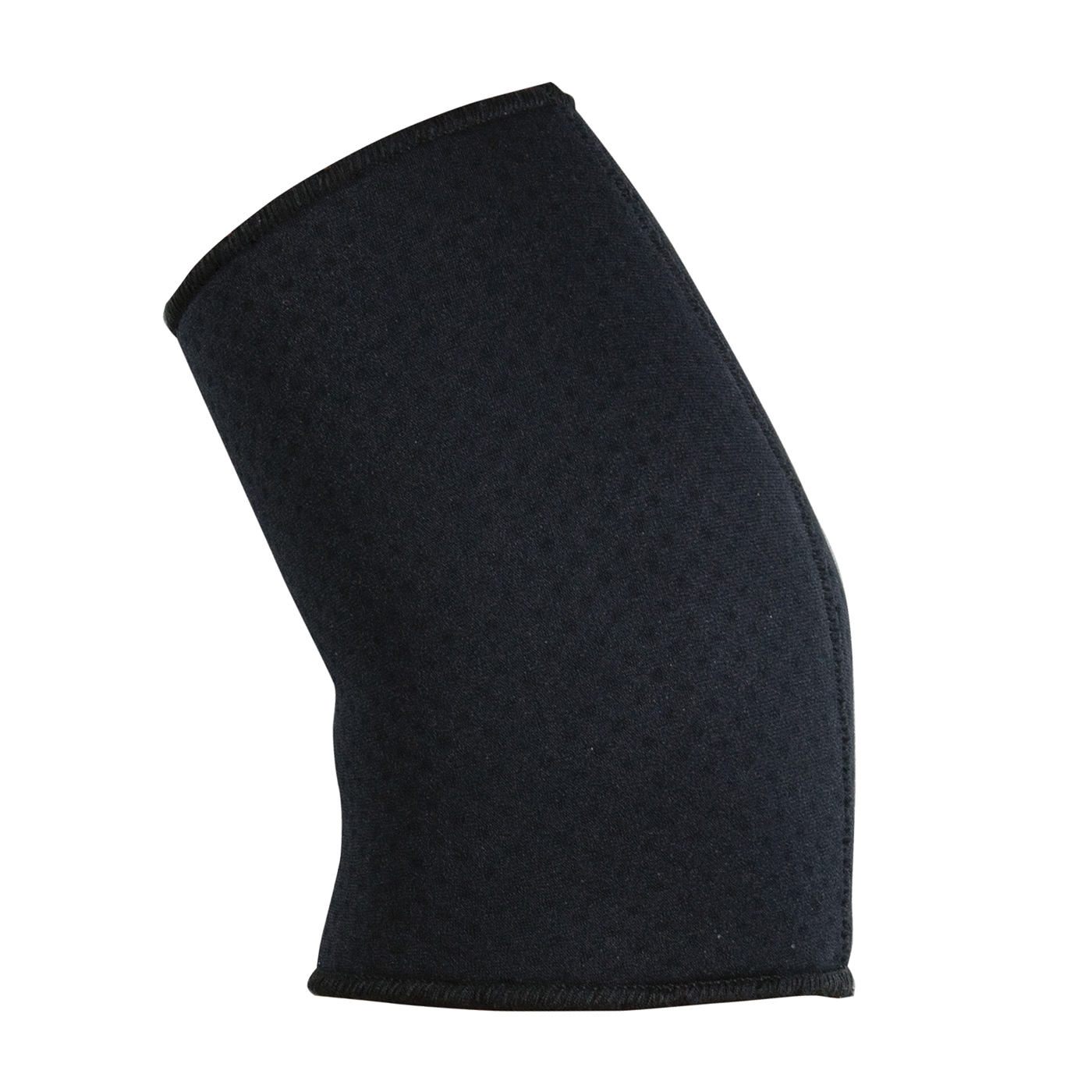 PIP® 290-9001L Ambidextrous Elbow Sleeve, L, Terry Lined Neoprene/Nylon, Black