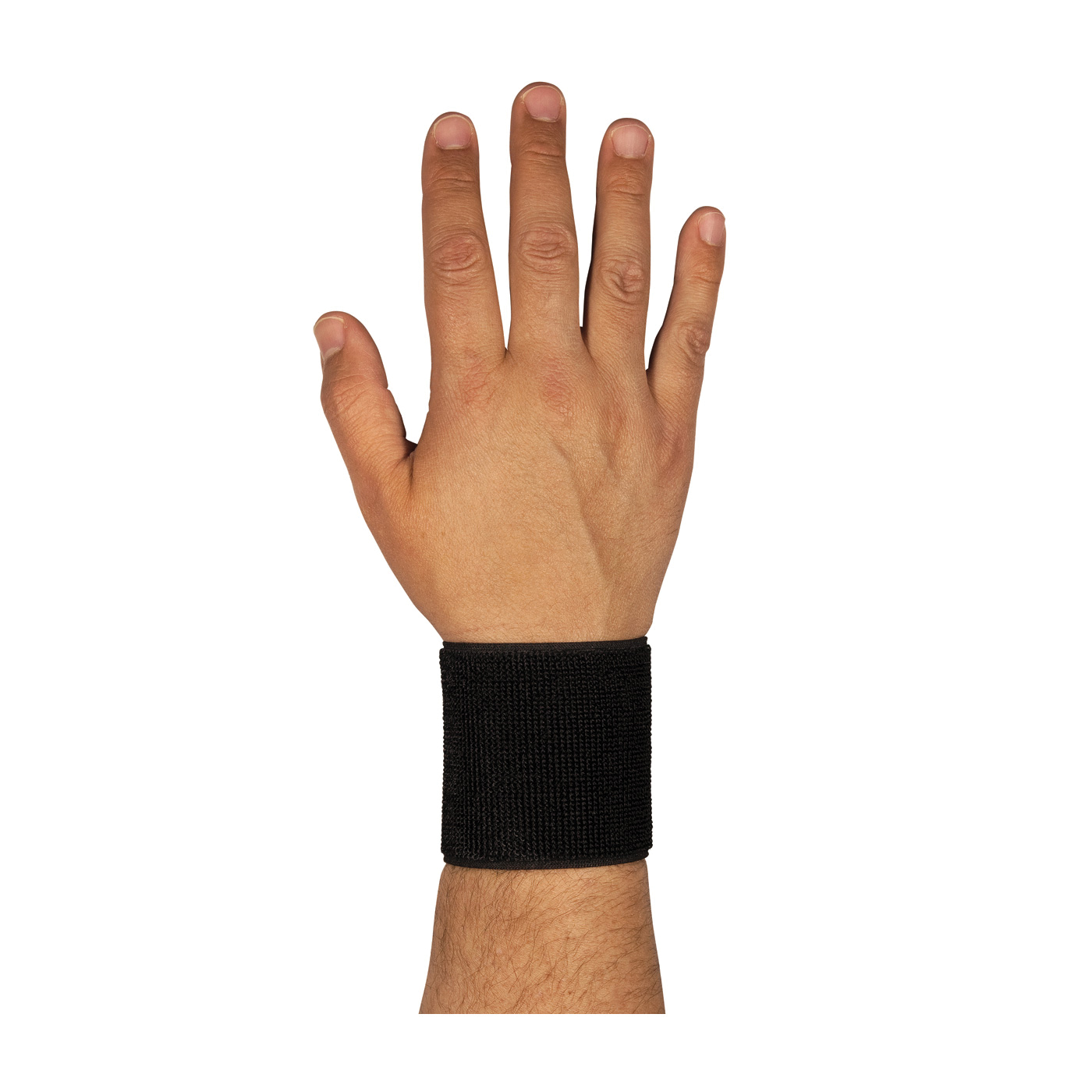 PIP® 290-9010BLK Ambidextrous Stretchable, Universal, Hook and Loop Closure, Elastic Strap, Black