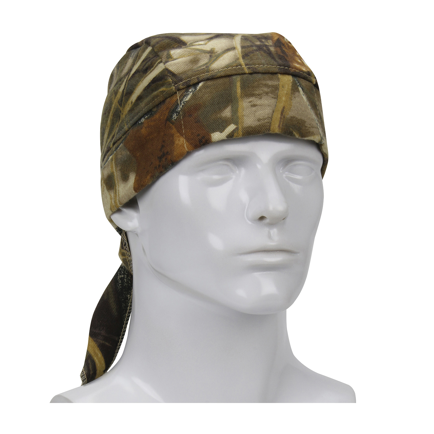 PIP® EZ-Cool® Plus 396-EZ205-RTC Evaporative Cooling Cooling Tie Hat, Universal, Realtree® Camo, Polyester Mesh, Tie Closure