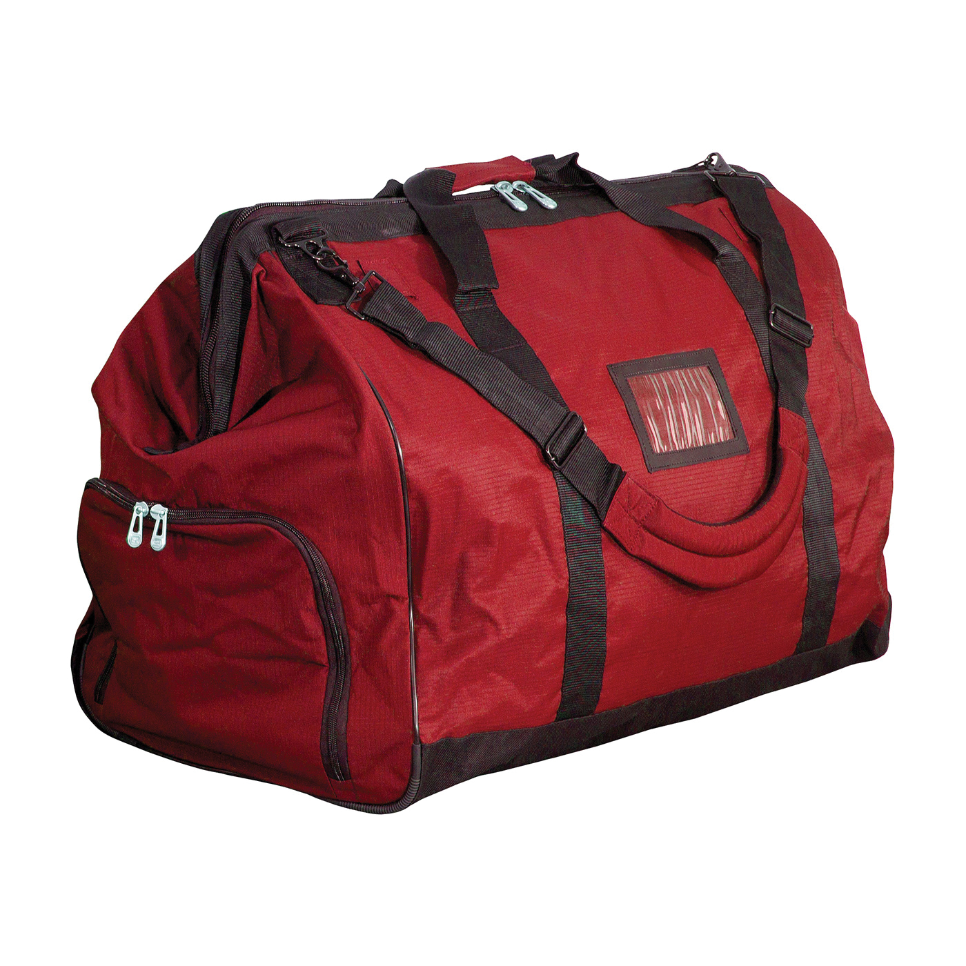 PIP® 903-GB651 Gear Bag, Red, Polyester, 22 in H x 16-1/2 in W x 28 in D