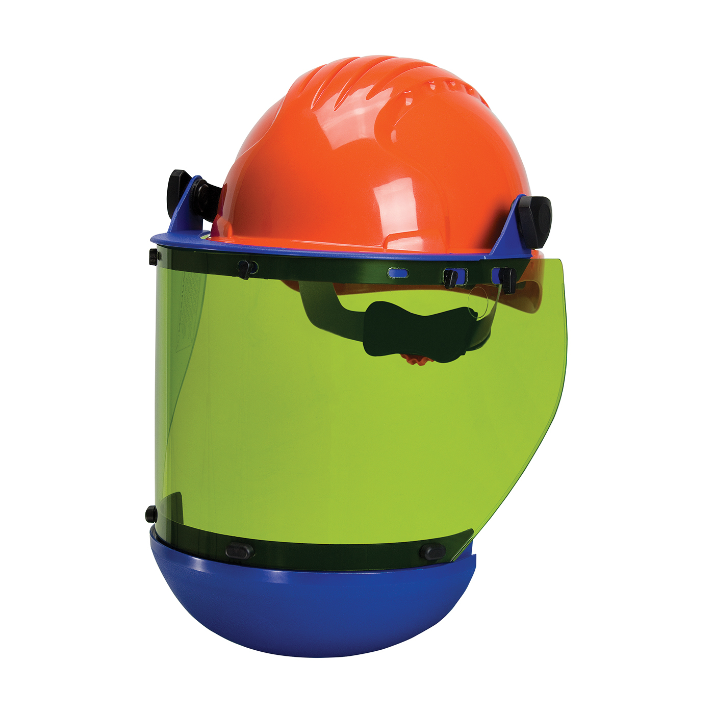 PIP® 9150-56510 Arc Shield With Hard Hat, Green