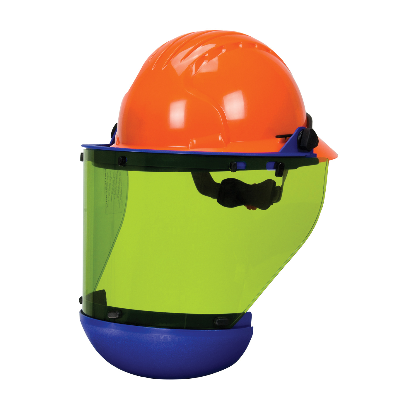 PIP® 9150-56511 Arc Shield With Full Brim Hard Hat, Green H