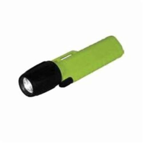 PIP® 933-A104120 LED Wide Beam Flashlight, For Use With Helmet/Hard Hat, Universal, ABS/LEXAN®/Polyurethane Rubber, Safety Yellow