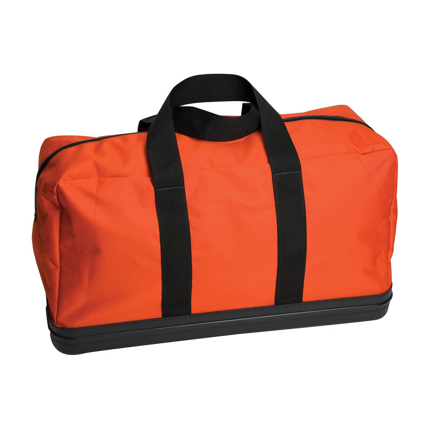 PIP® 9400-52599 HRC Kit Apparel Bag, Hi-Viz Orange, 600D Polyester/Molded Rubber Bottom, 13 in H x 10 in W x 24 in D
