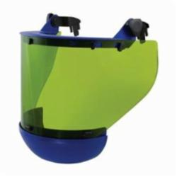 PIP® 9400-52505 Arc Shield With Mount Bracket and Chin Protector, Green, Chemical Alloy/Plastic/Polycarbonate