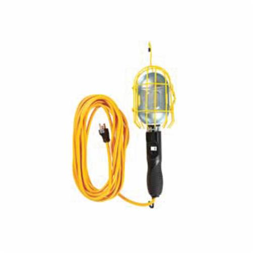 Southwire® Polar/Solar® 56578802SW Electric Heavy Duty Portable Handheld Light With Metal Guard/Outlet, Incandescent, 75/100 W, 120 VAC, 25 ft L Cord, 14 AWG Conductor