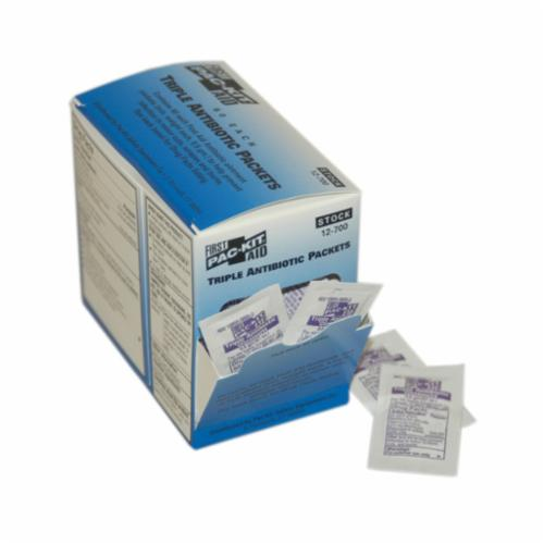 Pac-Kit® 12-700 Triple Antibiotic Ointment, Pack Packing, Formula: 400 Units Bacitracin/5 mg Neomycin Suflate/and 5000 Units Polymyxin-B Sulfate