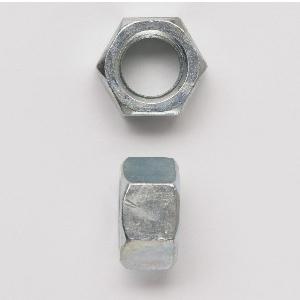 Peco 12FHNUSSZJ Hex Nut, 1/2-13, Carbon Steel, Zinc Plated