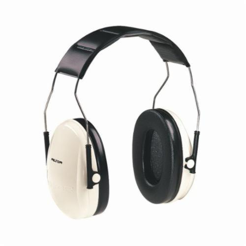 3M™ Peltor™ Optime™ 093045-08061 Ear Muff, 21 dB Noise Reduction, Beige/Black, Over The Head Band Position, CSA Certified Class B