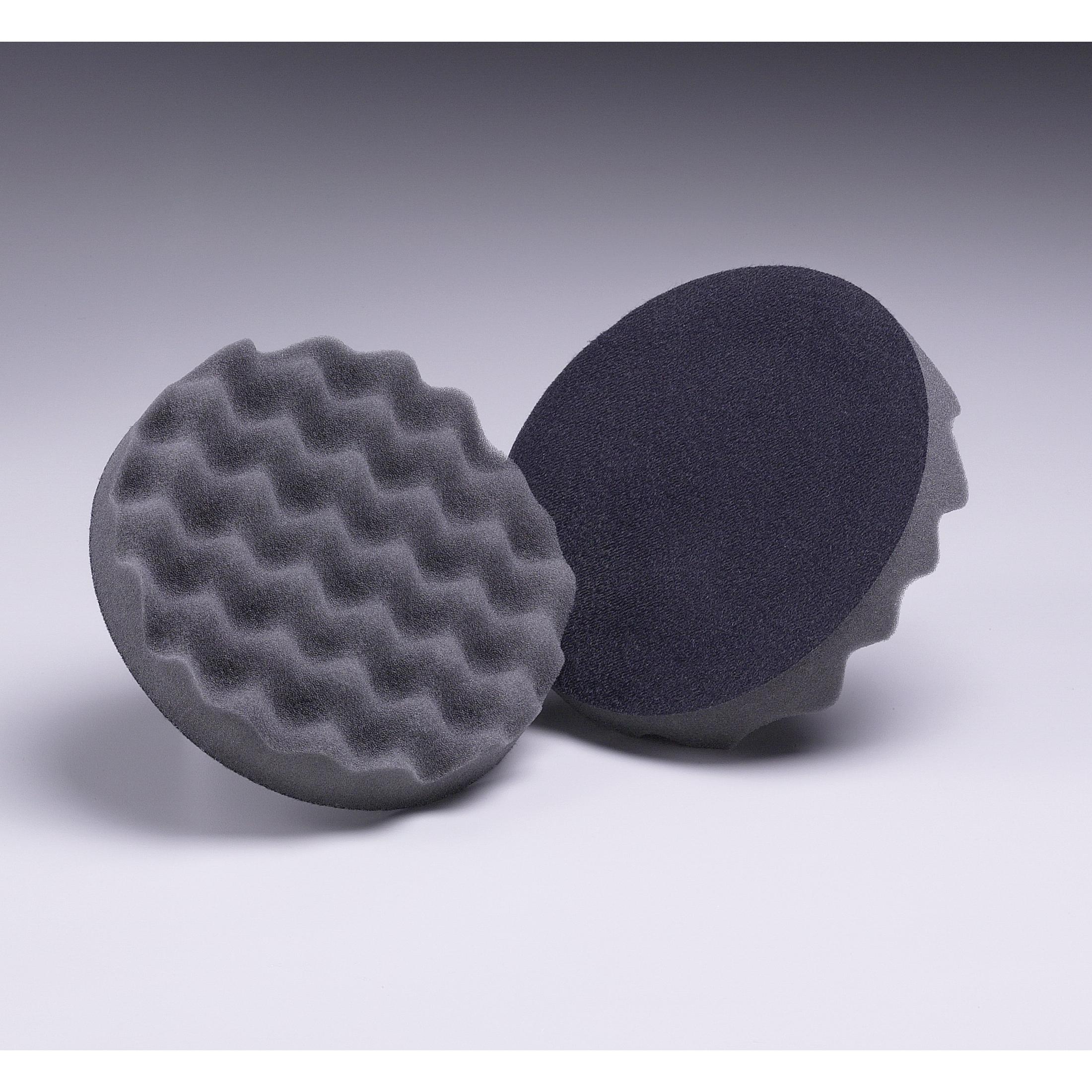 3M™ PerfectIt™ 3M™ Hookit™ 051131-05727 Regular Soft Density Polishing Pad, 76.2 mm OAD, Hook and Loop Attachment, Polyurethane Foam Pad