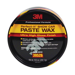 Perfect-It™ 051131-39526 Show Car Paste Wax, 10.5 oz, Coconut Odor/Scent, Yellow, Paste Form