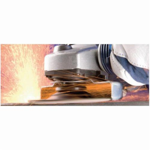 PFERD CC-GRIND®-SOLID Performance Line SG 61215 Unthreaded Coated Abrasive Disc, 4-1/2 in Dia