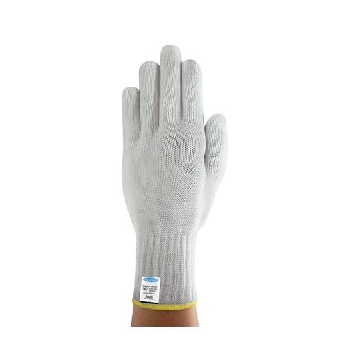 Ansell PolarBear® Supreme 222063 74-301 Light Duty Cut Resistant Gloves, L/SZ 9, Uncoated Coating, Dyneema®/Glass Fiber/Polyester, Elastic Knit Wrist/Tuff-Cuff™ Cuff, Resists: Cut, ANSI Cut-Resistance Level: A5