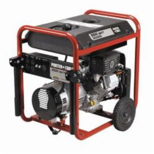 Porter-Cable® BSV550-W Portable Generator, 120/240 VAC, 42.6/21.3 A, 5500 W Power Rating
