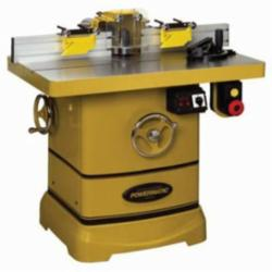 Powermatic® 1280100C Reversible Wood Shaper With Electrical Control, 1-1/4 in Dia Spindle, 4 in Spindle Travel, 40 x 30 in Table, 3 hp, 1, 230 VAC, 7500/10000 rpm
