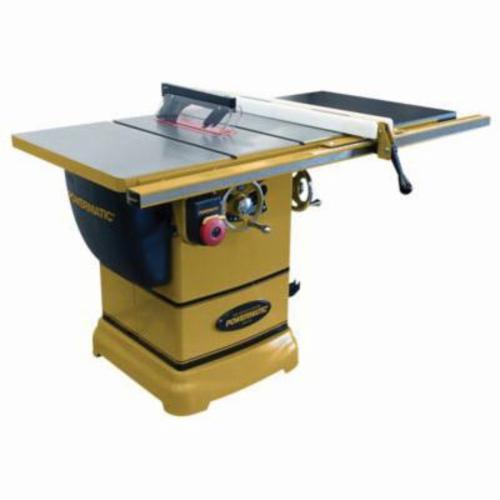 Powermatic® 1791000K PM1000 Cabinet Table Saw, 10 in Dia Blade, 5/8 in Arbor/Shank, 2-1/8 in 45 deg Capacity, 3-1/8 in 90 deg Capacity, 1-3/4 hp, Tool Only
