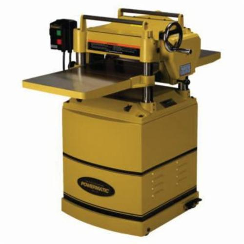 Powermatic® 1791213 15HH Helical Deluxe Planer Kit, 14-7/8 in W Cutting, 1/4 in Depth of Cut, 4500 rpm Speed, 3 hp, 230 VAC