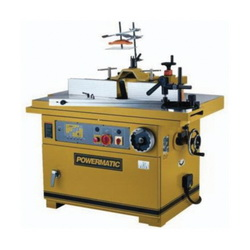 Powermatic® 1791284 Reversible Tilt/Slide Shaper, 1-1/4 in Dia Spindle, 7 in Spindle Travel, 51-1/2 x 33-1/2 in, 11-1/4 x 51-1/4 in Sliding Table Table, 7-1/2 hp, 3, 230/460 VAC, 3000/4000/6000/8000/10000 rpm