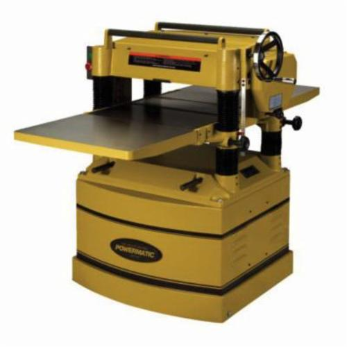 Powermatic® 1791297 209 Straight Knife Adjustable Planer, 20 in W Cutting, 3/32 in Depth of Cut, 5000 rpm Speed, 5 hp, 230/460 VAC