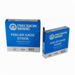 Precision Brand® 19125 Feeler Gage, 1 Blades, 25 ft Coil L x 1/2 in W x 0.001 in THK, C1095 Spring Steel