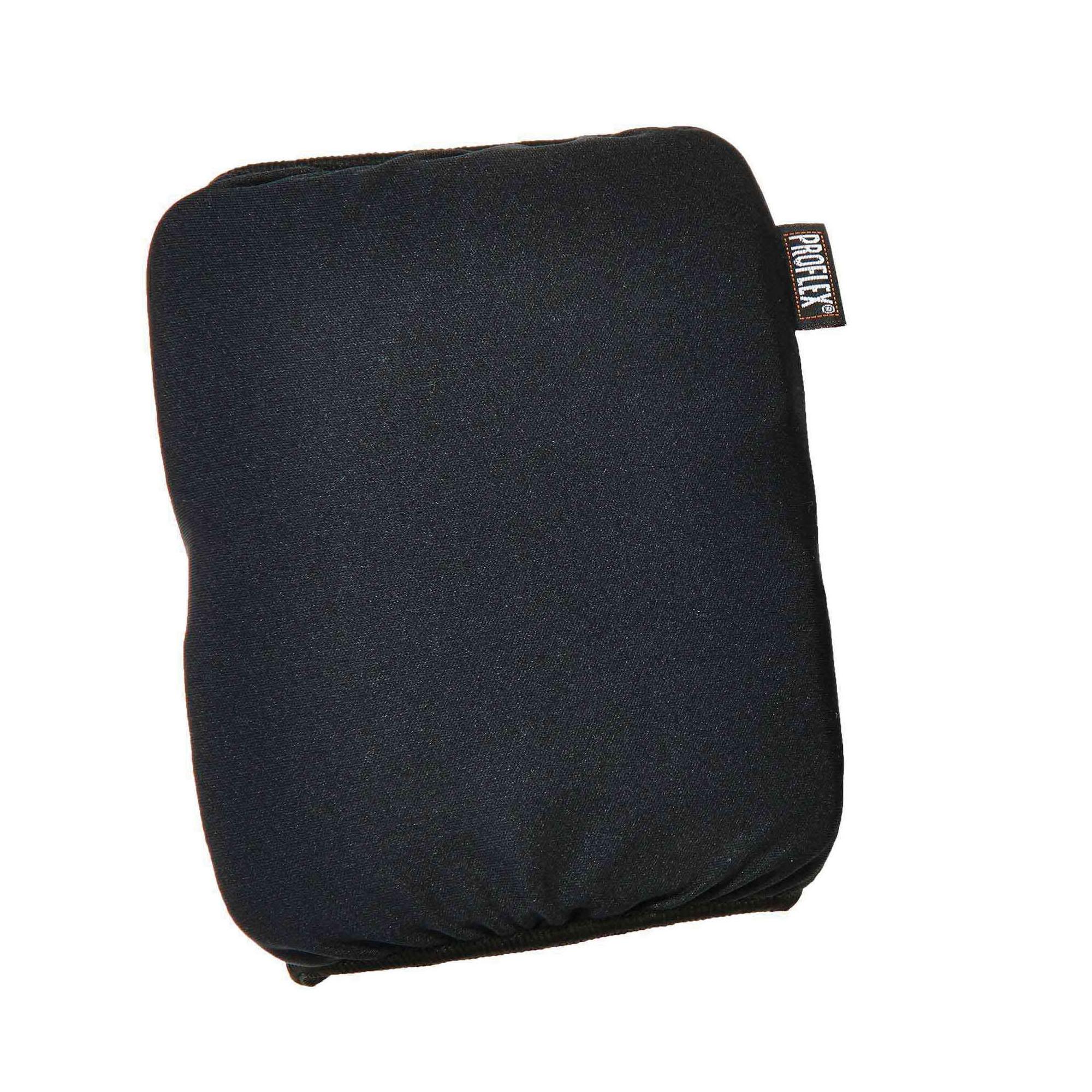 ProFlex® 18260 Slip-On Soft Knee Pads, Cloth/Foam Pad, Black
