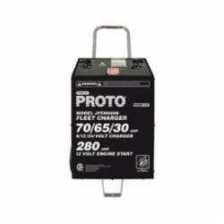 Proto® JFEH6006 Fleet Charger, Automatic Charge, 6/12/24 V, 455 A Boost/255 A Continuous Assist, 16 in W x 17 in D