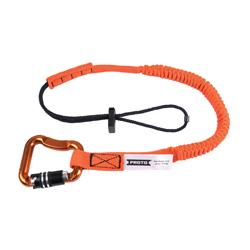 Proto® JLAN15LB3LK Tool Lanyard, 15 lb Capacity, Elastic Nylon Line/Steel Hardware