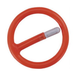 Proto® JRR07520 Crush Gauge Retaining Ring, 3/4 in Drive, For Use With Impact Socket, Steel, Plastic Coated, Red