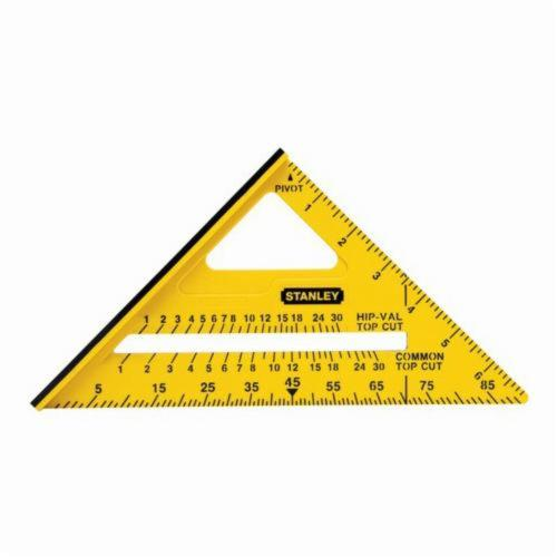 Stanley® STHT46010 Dual Color Square, 7 in L, 1/8ths Graduation, 90 deg, ABS