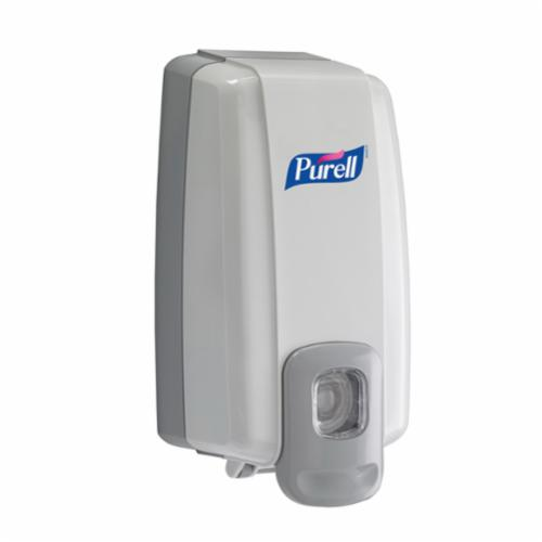 PURELL® 2120-06 NXT® SPACE SAVER™ Push Style Dispenser, Gloss, 1000 mL Capacity, Wall Mount, Plastic