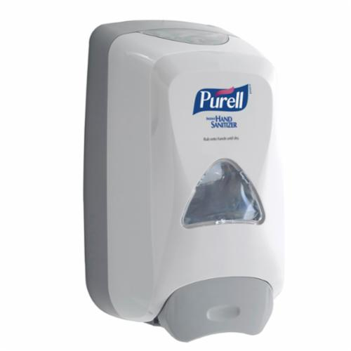 PURELL® 5120-06 FMX-12™ Push Style Foam Hand Sanitizer Dispenser, Glossy, 1200 mL Capacity, Wall Mount, Plastic