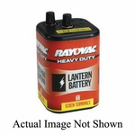 Rayovac® 944A Heavy Duty Lantern Battery, Zinc Carbon, 6 V