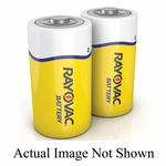 Rayovac® HD-DF Heavy Duty D-Cell Battery, Zinc Chloride, 1.5 VAC, 8000 mAh, D