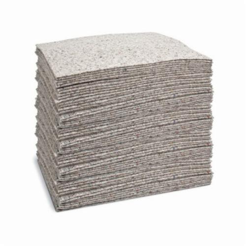 SPC® Re-Form™ RF300 1-Ply High Linting Medium Weight Absorbent Pad, 19 in L x 15 in W, 32 gal Absorption, Cellulose