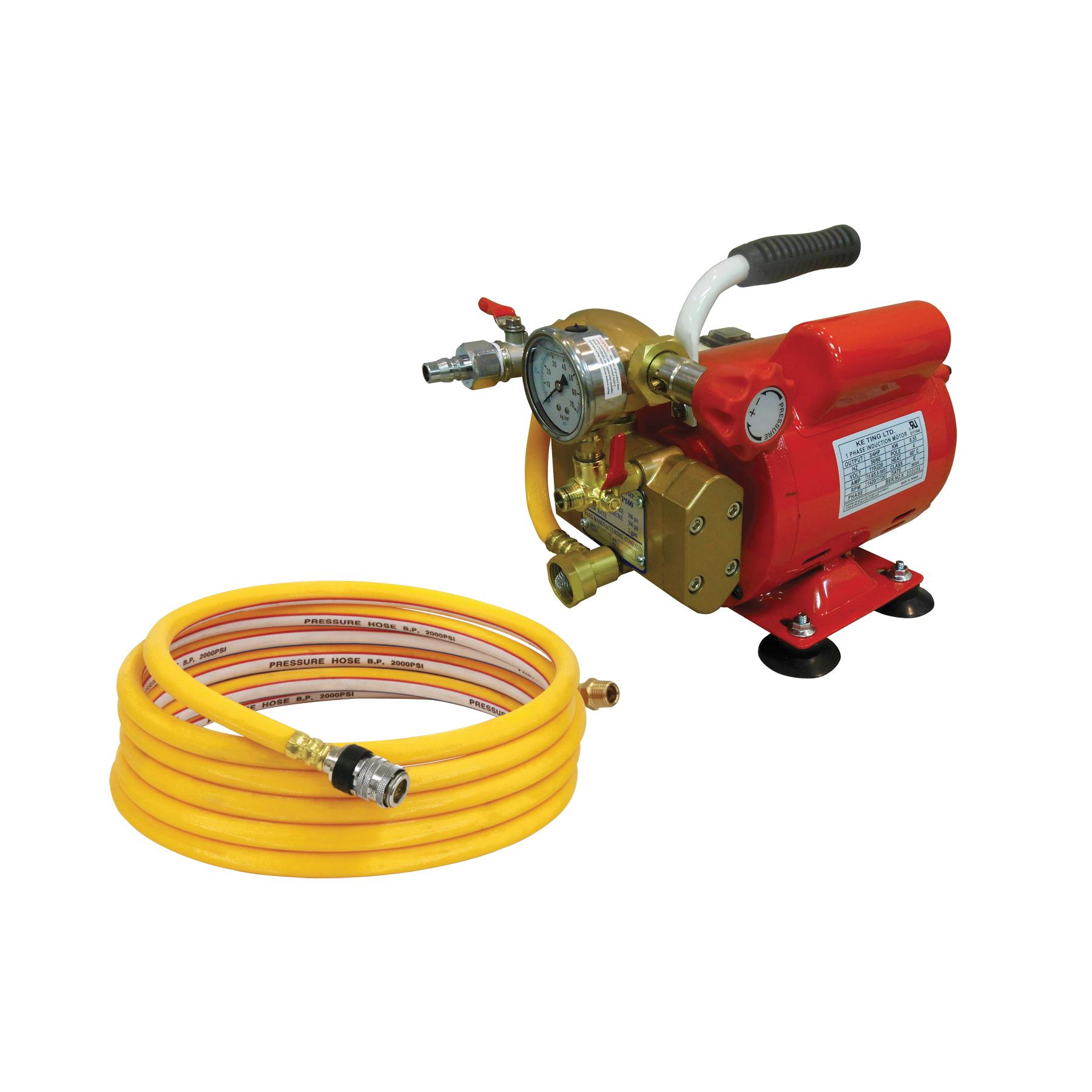 Reed 08170 Electric Hydrostatic Test Pump, 2 gpm, 110 VAC