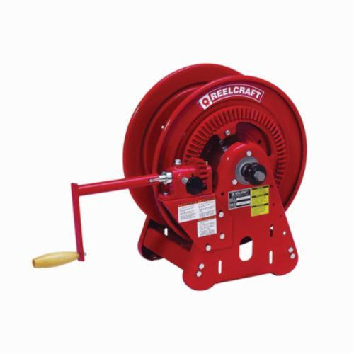 Reelcraft® BA36112 LT 30000 Dual Swivel Heavy Duty Hose Reel, 9/16-18 Male Hose Outlet, 1/4 in ID x 250 ft L Hose, 200 psi Pressure, 150 deg F