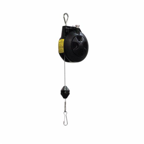 Reelcraft® TB 01 Medium Duty Spring Retractable Tool Balancer, 1.5 lb Load, 6 ft L Cable, 6 ft Travel, Rotation Tension Adjustment