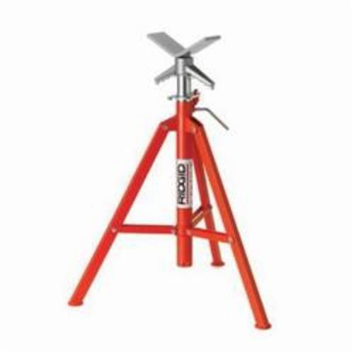 RIDGID® 22168, VF-99 V-Head High Pipe Stand, 12 in Pipe, 2500 lb Load