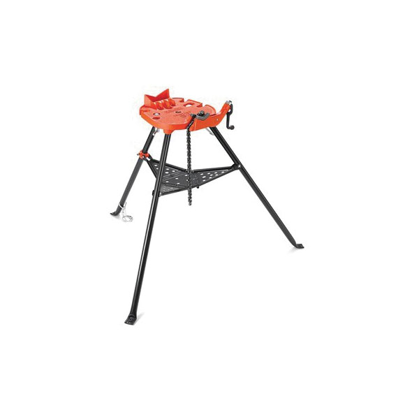 RIDGID® TRISTAND® 36273, 460-6 Portable Pipe Chain Vise, 1/8 to 6 in Pipe