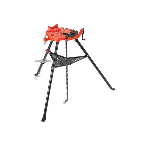 RIDGID® TRISTAND® 36278, 460-12 Portable Pipe Chain Vise, 1/8 to 12 in Pipe, 1500 lb Load